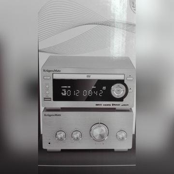 KM1584 wieża HIFI SYSTEM DVD HDMI Bluetooth USB