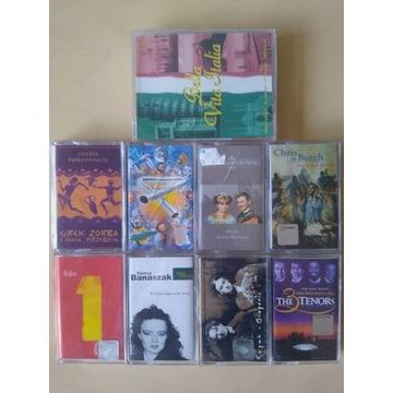 Zestaw 9 kaset audio