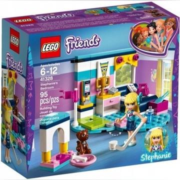 LEGO FRIENDS Sypialnia Stephanie 41328