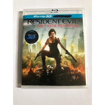 Resident Evil: Ostatni Rozdział Blu-Ray 3D