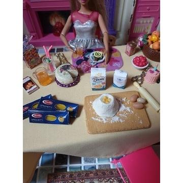 Spaghetti -mini jedzenie dla lalek LOL OMG, Barbie