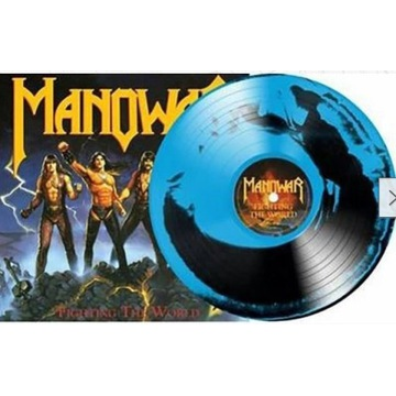 MANOWAR - Fighting The World, 1LP limit 500 szt !
