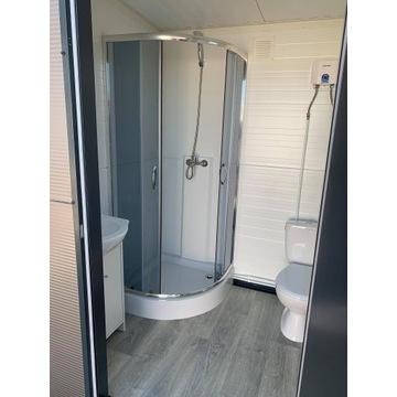 Toaleta przenośna WC łazienka kontener sanitarny