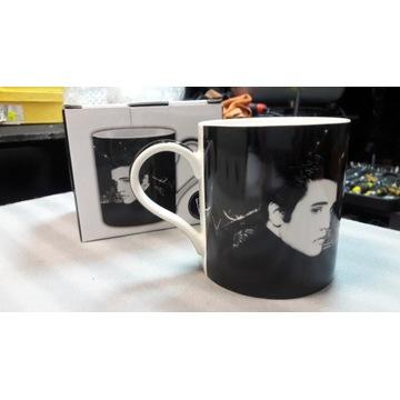 Kubek z Elvisem Presleyem
