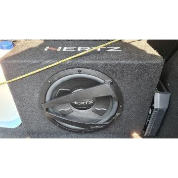 Hertz skrzynia basowa dbx 25.3 + wzmacniacz hertz