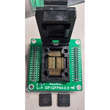 Adapter Podstawka QFP64 0,8mm WaveShare