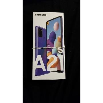 NOWY Samsung A21s Blue 32GB Nieodpakowany