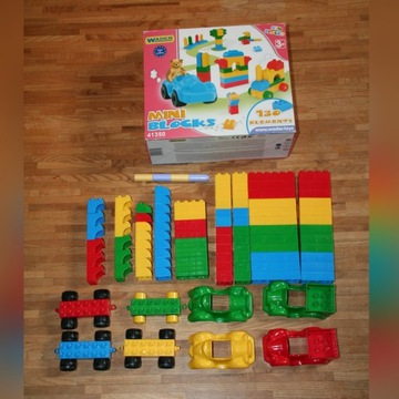 Wader zestaw 41350 mini blocks - ponad 100 el.