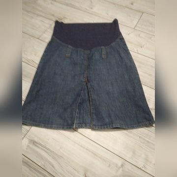 Spódnica ciążowa jeansowa rozmiar 38
