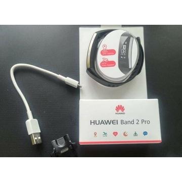 Huawei Band 2 Pro 5 ATM GPS Czarny BT smart band
