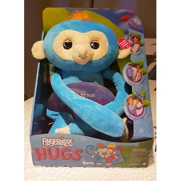 Fingerlings Hugs interaktywna małpka Boris WooWee