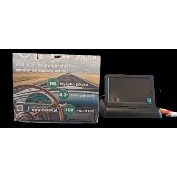 Monitor do podłączenia kamery cofania