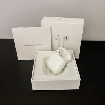 Apple AirPods 2 etui ładujące + lewa słuchawka