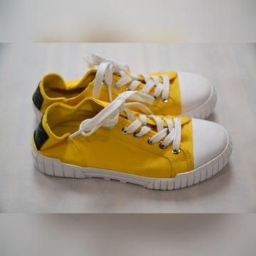 Buty Calvi Klein Jeans BIANCA yellow 36 !