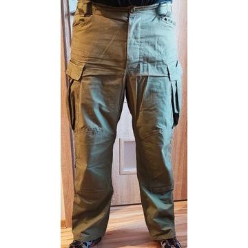 Wojskowe spodnie militarne zielone