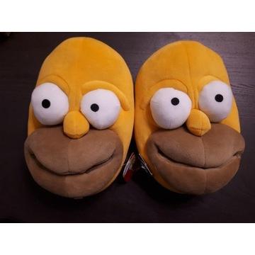 Kapcie Homer Simpson rozmiar 42 Deichmann