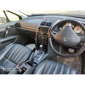 Peugeot 407 Kolumna kierownicza elektryczna kompl