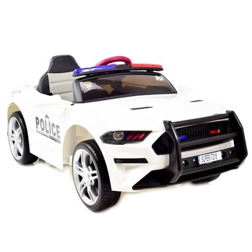 Auto Na Akumulator POLICJA/Dźwięki/EVA/BBH0007 BI