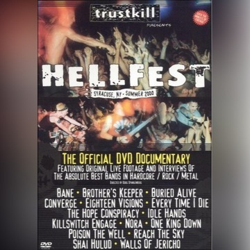 Hellfest 2000 The Official DVD folia