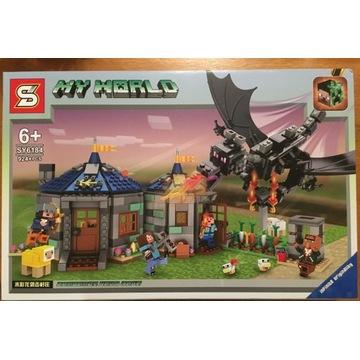 Klocki My World Minecraft klocki LEGO 924 el