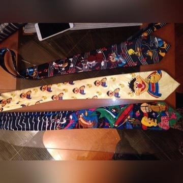 Krawaty 3szt