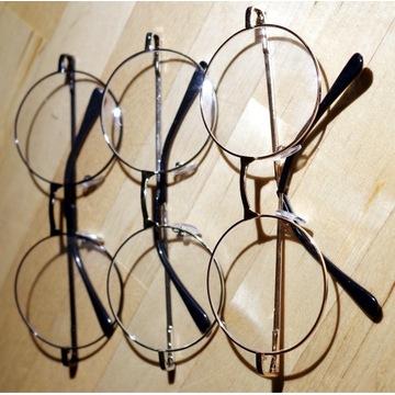 Oprawki lenonki H.Potter - złote, srebrne, czarne