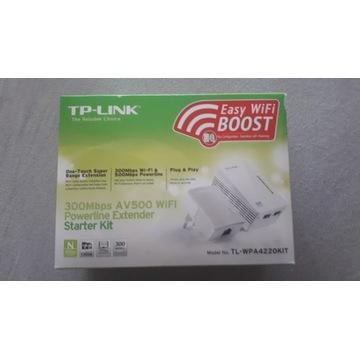 Wzmacniacz sygnału| TL-WPA4220 KIT AV500 TL-PA4010