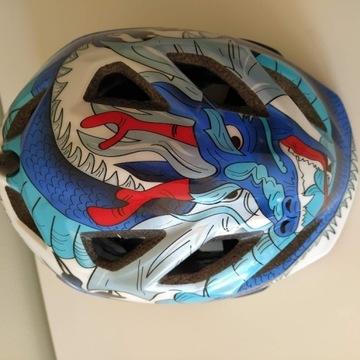 Kask rowerowy dziecięcy MET Elfo II 46-53 cm