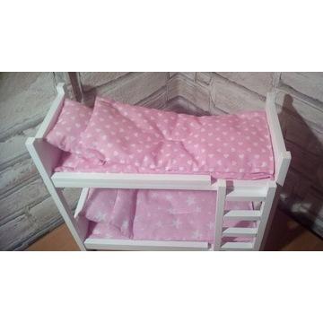 Łóżeczko piętrowe dla lalek max 30cm