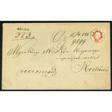 1880 Zabór Austriacki Galicja Kalwaria