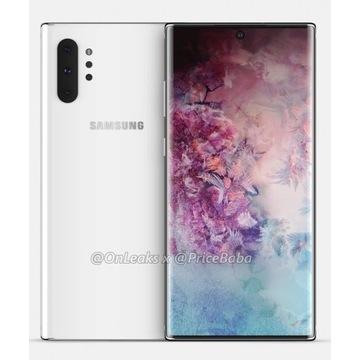 Samsung Galaxy Note 10 + Aura Glow Srebrny 256GB