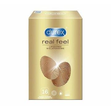 Prezerwatywy Durex RealFeel 16 sztuk - NOWE