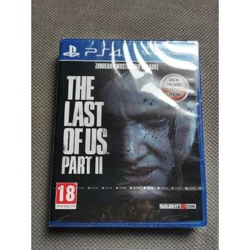 Gra PS4 The Last of Us 2, nowa zafoliowana PL