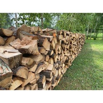 Drewno Kominkowe, opałowe Olcha, Dąb, Brzoza