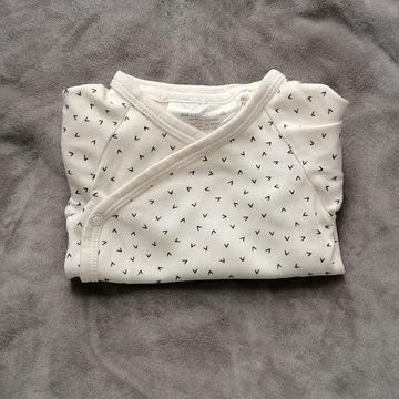 H&M Conscious body zapisane 56-62 organic cotton