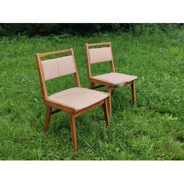 Stare krzesła JAR Jasienica PRL vintage Kraków 2sz