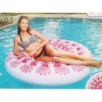 Materac do pływania koło, średnica 160cm, ogromny.