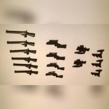LEGO broń pistolety karabiny