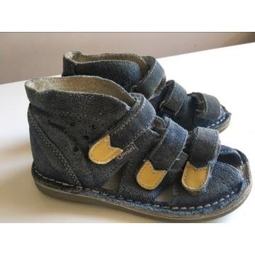 Buty kapcie ortopedyczne korekcyjne Daniel r 25