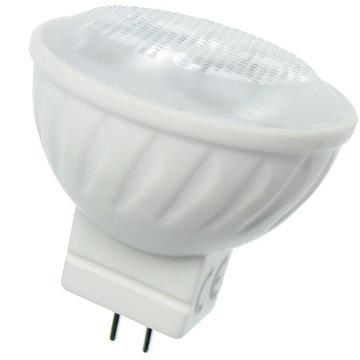 Żarówka dioda LED 4W GU4 MR11 12V AC/DC 3000K CERA