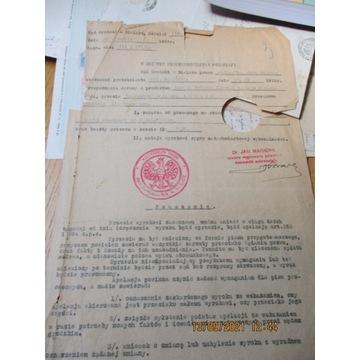WYROK SĄDU SĄD GRODZKI Bielsk 1933 SĄD LUBLIN