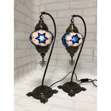 Mozaik Turecka lampy