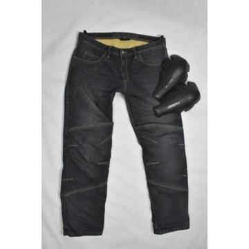 Spodnie motocykl jeans cordura kevlar VANUCCI r.56