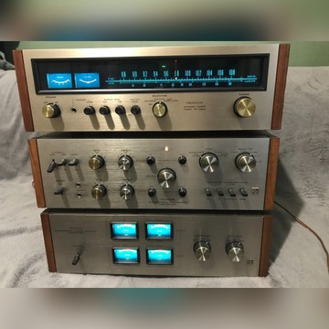 Pioneer- radio, wzmacniacz , przedwzmacniacz