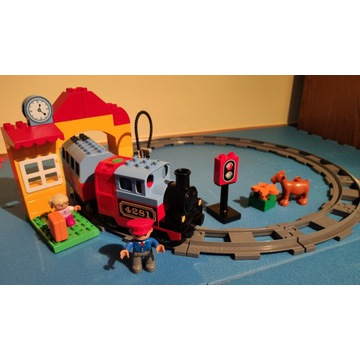Klocki Lego Duplo Mój pierwszy pociąg 10507