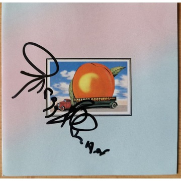 Allman Brothers Band - Eat a Peach płyta autograf