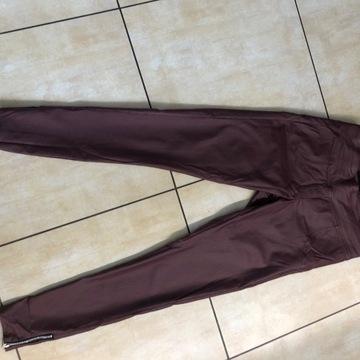 Spodnie z ekoskóry firmy Mielczarkowski rozmiar 38