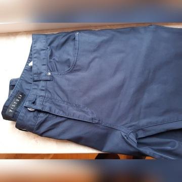 Spodnie VISTULA PASADENA roz. 32/34   granatowe