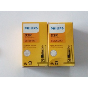 Żarnik PHILIPS D2R Xenon Vision Standard 35W 85V