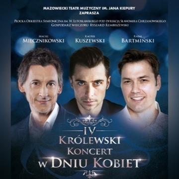 2 Bilety IV Królewski Koncert w Dniu KOBIET ZAMEK
